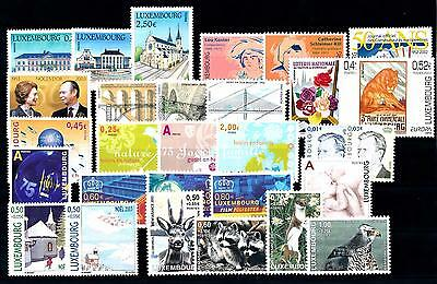 [55448] Luxembourg Luxemburg 2003 Complete Year Set  MNH