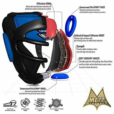 Boxeo Casco protector. Entrenemiento lucha. MMA Kickboxing Sparring
