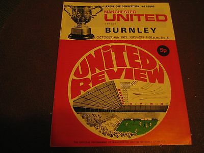 Manchester United Bargain - Homes (8) and away v Leeds Utd 1971/72 to 1974/75.