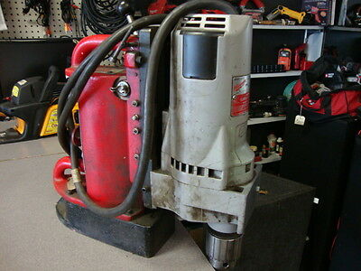 """Milwaukee Electromagnetic Drill Press 4262-1 Drill 3/4"""" with 4202 Magnetic base"""