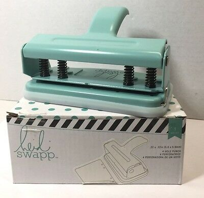 Heidi Swapp  4-Hole Binder Punch new free ship scrapbooking