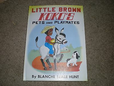 """Vintage Book-""""little Brown Koko's Pets And Playmates""""-1959 Free Shipping"""