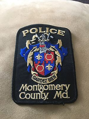 Montgomery County Maryland Police Department Patch - Department Of Public Safety