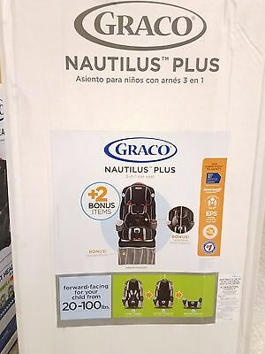 Graco Nautilus 3-in-1 Car Seat with 2 Bonus Items-Abram Pattern