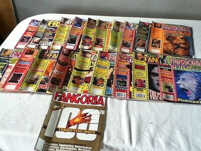 Fangoria horror magazine collection