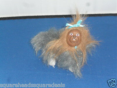 """Barbie  Brown Hair Dog, now retired approx 4"""" in size"""