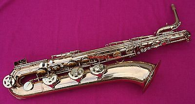 Gorgeous! - 1990s Grassi 'Professional' Eb Baritone, Low A - WORLDWIDESAX