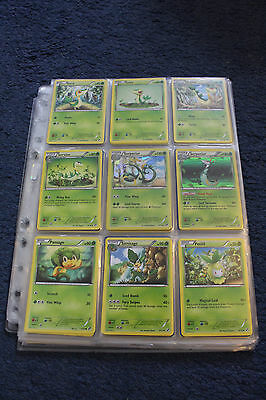 Complete Pokemon Black and white card set 115/114 with shinys