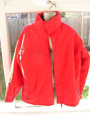 Wed'ze Red Decathlon Mens Ski Jacket - size L - Large - Great condition