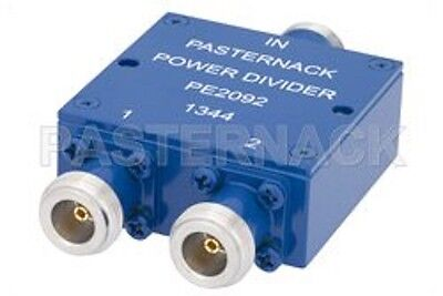 PASTERNACK PE2092 50 Ohm 2 Way N Wilkinson Power Divider From 690 MHz to 2.7 GHz