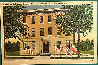 DL946 American Red Cross Headquarters Wilmington Delaware DE Vintage PC