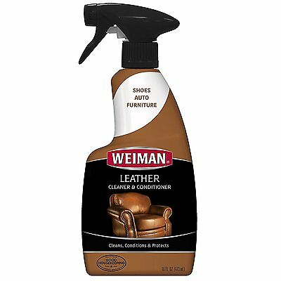 Weiman Leather Cleaner Conditioner Home Furniture Auto Interiors High Quality