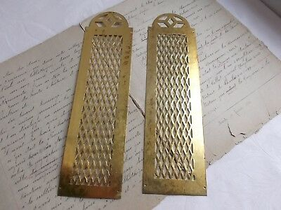French a pair of divine push plate finger brass fabulous timeless designed