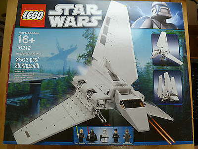 LEGO - Imperial Shuttle - Star Wars - 10212 - New and Sealed