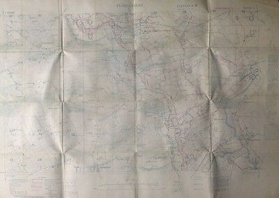 Ypres Battlefield PLOEGSTEERT New WW1 trench map. Christmas truce Prowse etc.