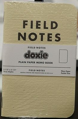 Field Notes x Doxie Limited Edition sealed single notebook New and Unused