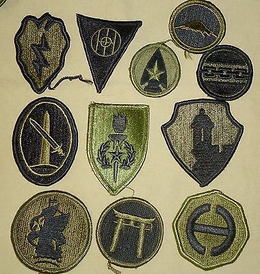 US Military Patches - Wide Variety Including Shoulder Insignia, Rank & Awards 04