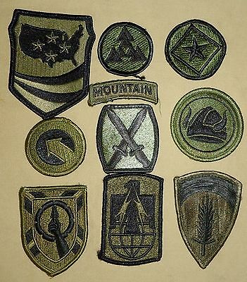 US Military Patches - Wide Variety Including Shoulder Insignia, Rank & Awards 05