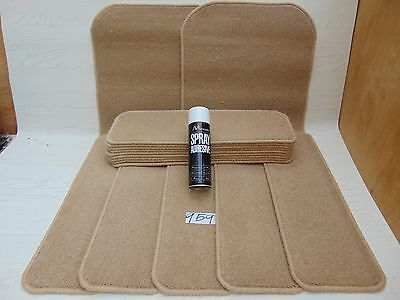 Stair pads 60cm Wide 14off and 2Big Mats Runner and FREE can of SPRAY GLUE 959-9