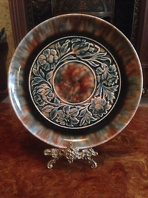 Linthorpe Early Rare Plate Dr Christopher Dresser Period