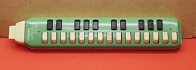 HOHNER Melodica Soprano Green Vintage Made In Germany