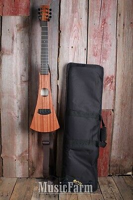 Martin Backpacker 25th Anniversary 6 String Travel Acoustic Guitar with Gig Bag