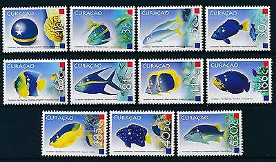 [CU003] Curacao 2011 Fishes and Flags MNH # 3-13
