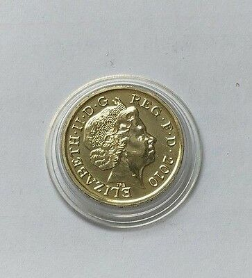 2010 £1 BU Coin - Belfast - Royal Mint One Pound UNC Uncirculated
