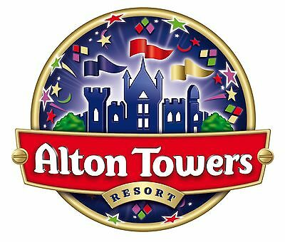 8 x tickets for alton towers 05/09/2017  september
