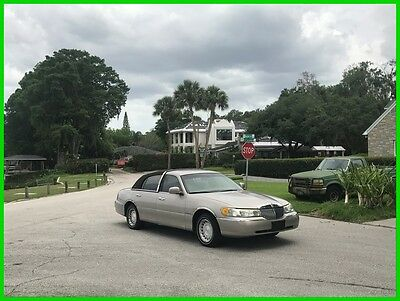 2002 Lincoln Town Car Executive 2002 Lincoln Town Car Executive Used 4.6L V8 16V Automatic 51k NO RESERVE