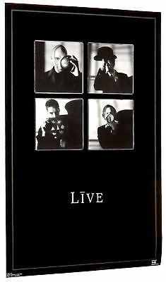 Live Group Poster From 1997 Rare!  22 By 34.5 Inches