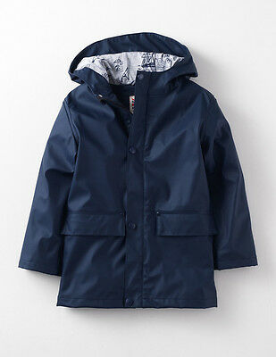 NEW Mini Boden SIZE ** 7-8 ** Rain Coat Fisherman Boat Jacket Waterproof