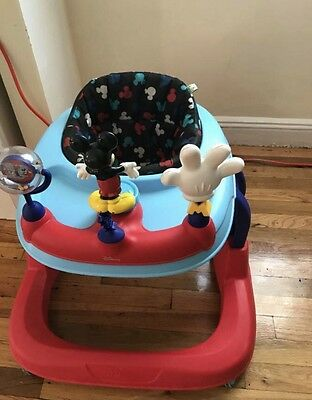 Disney Mickey Mouse Baby Toddler Walker