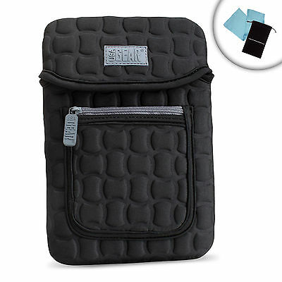 Neoprene eReader Case with Carrying Handle , Shock Protection & Accessory Pocket