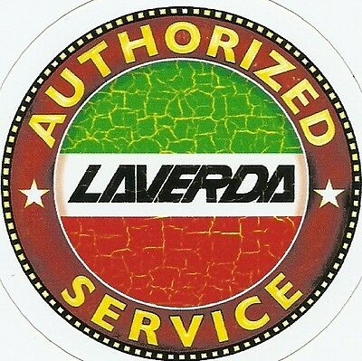 LAVERDA MOTORCYCLE Sticker Decal