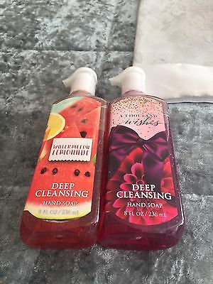 BBW Deep Cleansing Hand Soap A Thousand Wishes/Watermelon Lemonade