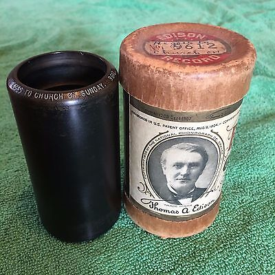 Billy Murray Rare Vintage Edison Antique Cylinder Phonograph Gramophone Record