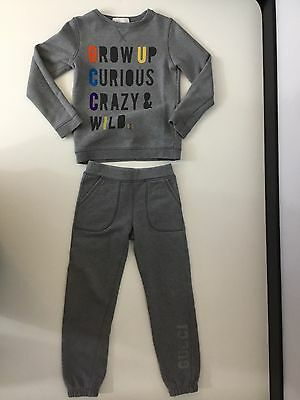 Gucci Grey Boys Tracksuit 2 Piece Age 5 Years Hoodie Jogging Bottoms