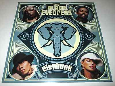 THE BLACK EYED PEAS~Elephunk~1ft by 1ft Promo Poster Flat~NM Condition