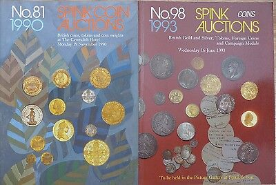 Two Spink  Auction Catalogues