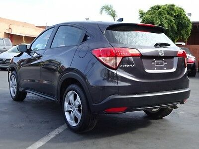 2016 Honda HR-V LX Sport Utility 4-Door 2016 Honda HR-V Damaged Repairable Gas Saver Low Miles Perfect Project Must See!
