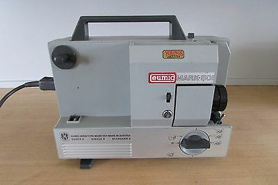 Eumig Mark 501 film projector (1969) super, single & standard 8