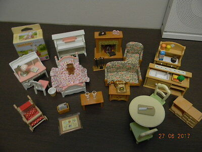 Sylvanian Families - Bundle Of Assorted Furniture And Accessories