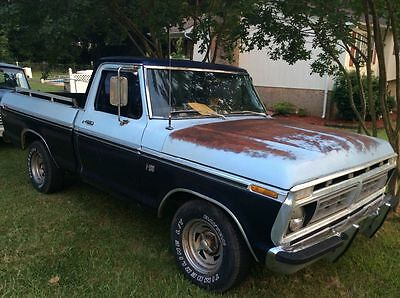 1976 Ford F-100  1976 Ford F100 Short Bed Pickup Truck