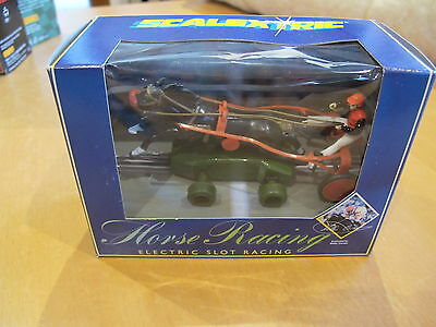 Scalextric C420 Sulky No 4 Julie's Choice Horse Racing Rare
