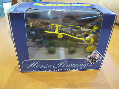 Scalextric C419 Sulky Yellow Terry's Challenge Horse Racing Rare