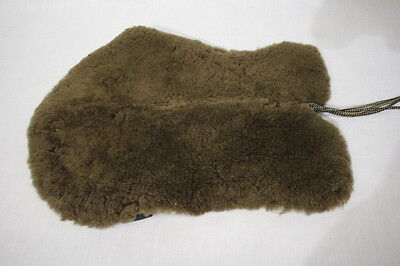 JMS Just Merino Sheepskin BROWN English Horse Saddle Seat Cover Cushion, USA
