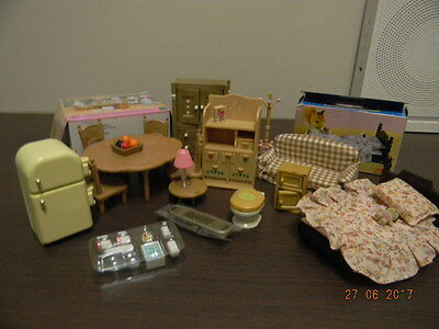 Sylvanian Families - Bundle Assorted Furniture And Accessories