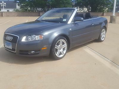 2007 Audi A4 Convertible 2.0T Quattro Cabriolet with 49,990 Miles,LOOK!!!