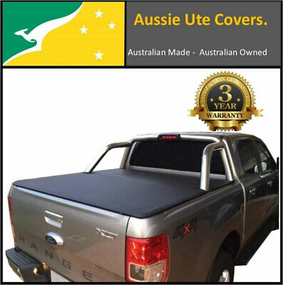 Ford Ranger PX XLT Dual Cab Clip On Australian Made Ute Tonneau Cover